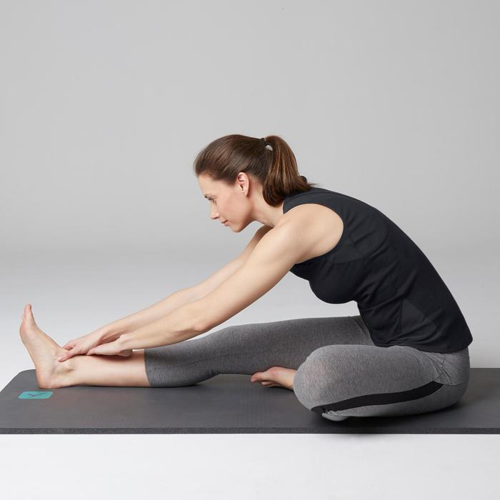 Tank-Top 520 Gym Stretching Damen schwarz