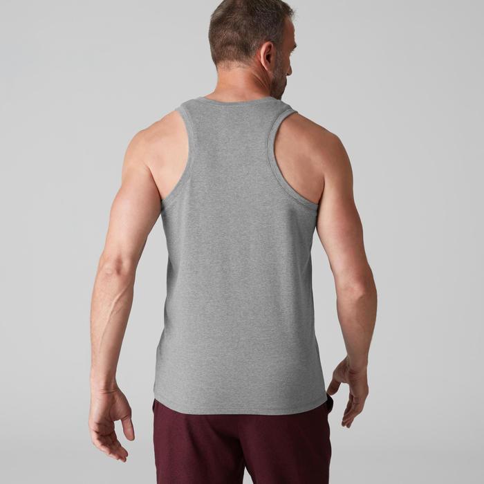 Débardeur coton respirant Gym & Pilates homme - 1504960