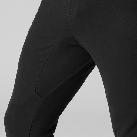 Pantalon entraînement étroit noir– Homme