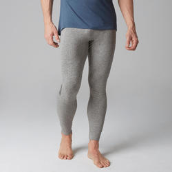 Legging 560 pilates et gym douce homme gris clair
