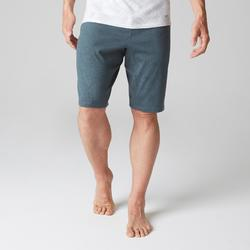 Short 520 slim largo encima de rodillas gimnasia Stretching hombre azul AOP