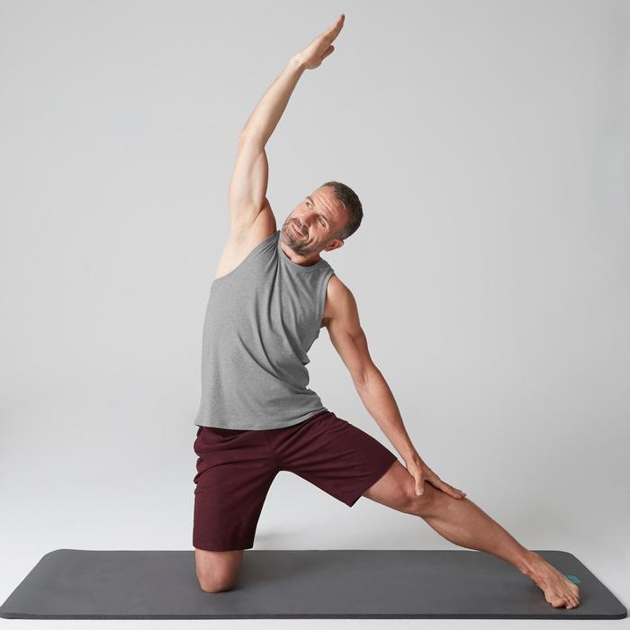 Débardeur coton respirant Gym & Pilates homme - 1505021
