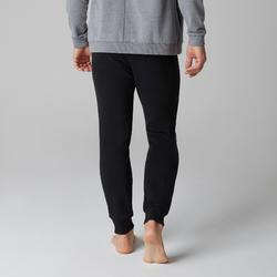 Joggingbroek voor heren 500 slim fit zwart