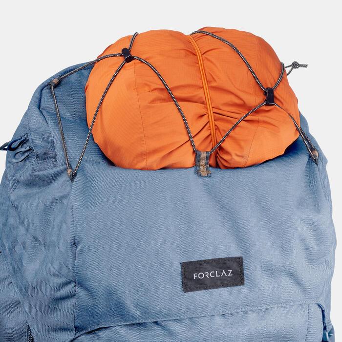 Sac à dos de trekking en montagne femme - TREK 900 SYMBIUM - 50+10L bleu