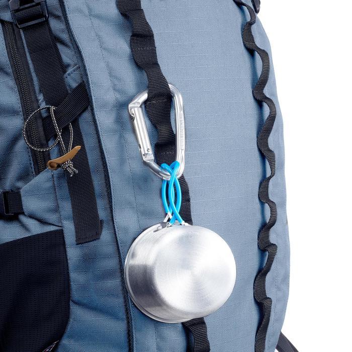 Bergsport rugzak voor dames Trek 900 50+10 blauw