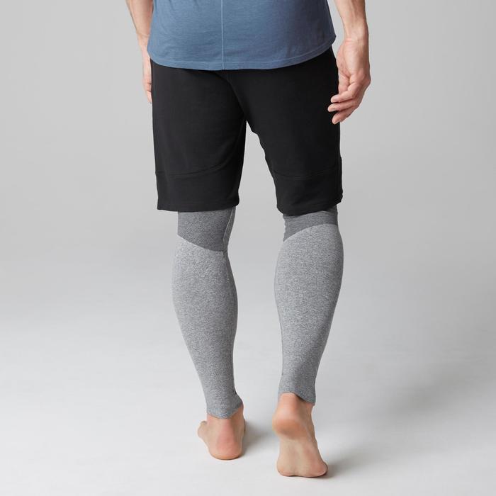 Sporthose kurz 560 Slim Gym & Pilates Herren schwarz