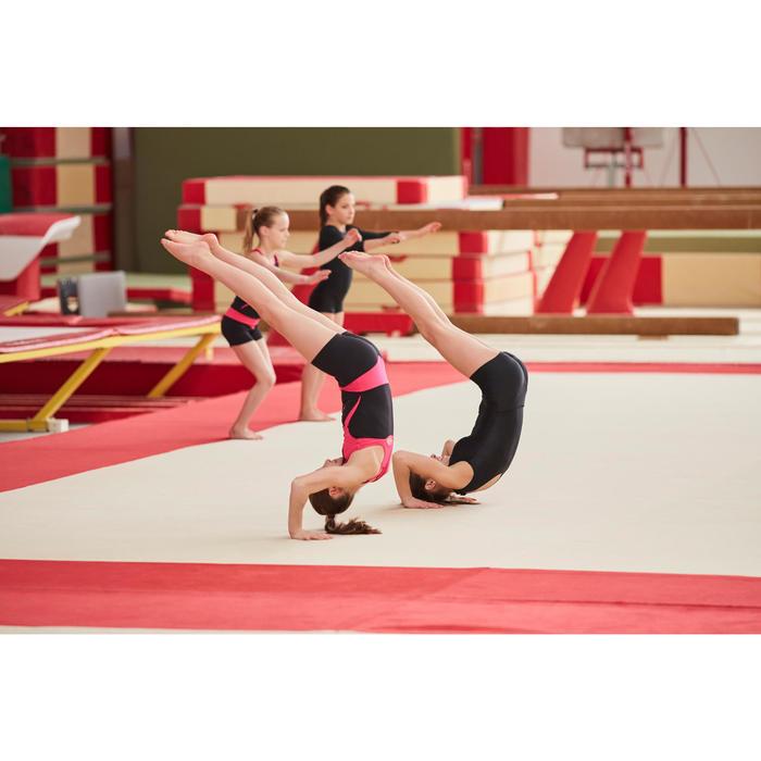 Damesshort voor artistieke gymnastiek zwart