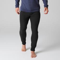Jogginghose 500 Skinny Herren schwarz