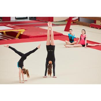 Justaucorps gymnastique artistique féminine sequins - 1505164