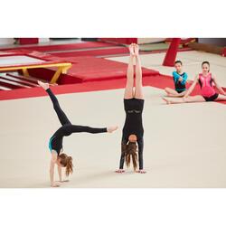Gymnastikhose Pailletten schwarz