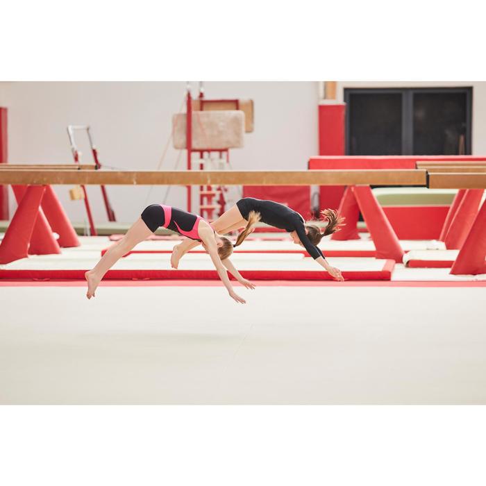 Justaucorps gymnastique féminine manche longues - 1505222