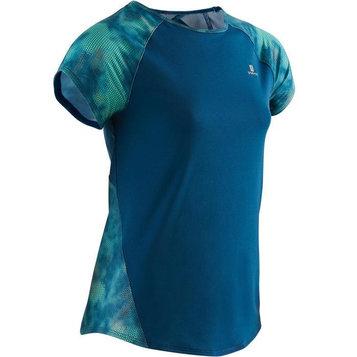 T-Shirt manches courtes S900 Gym Fille imprimé - 1505232