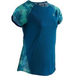 Gym T-shirt voor meisjes S900 korte mouwen