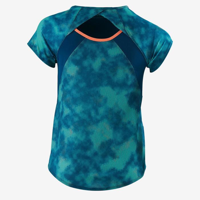T-Shirt Kurzarm S900 Gym Kinder blau mit Print