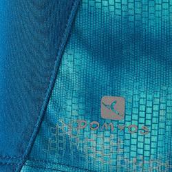 Camiseta Sin Mangas Deportiva Gimnasia Domyos S900 Niña Azul De Prusia