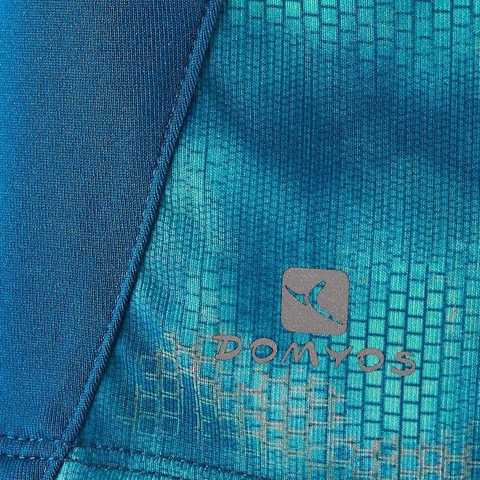 Débardeur S900 Gym Fille bleu imprimé