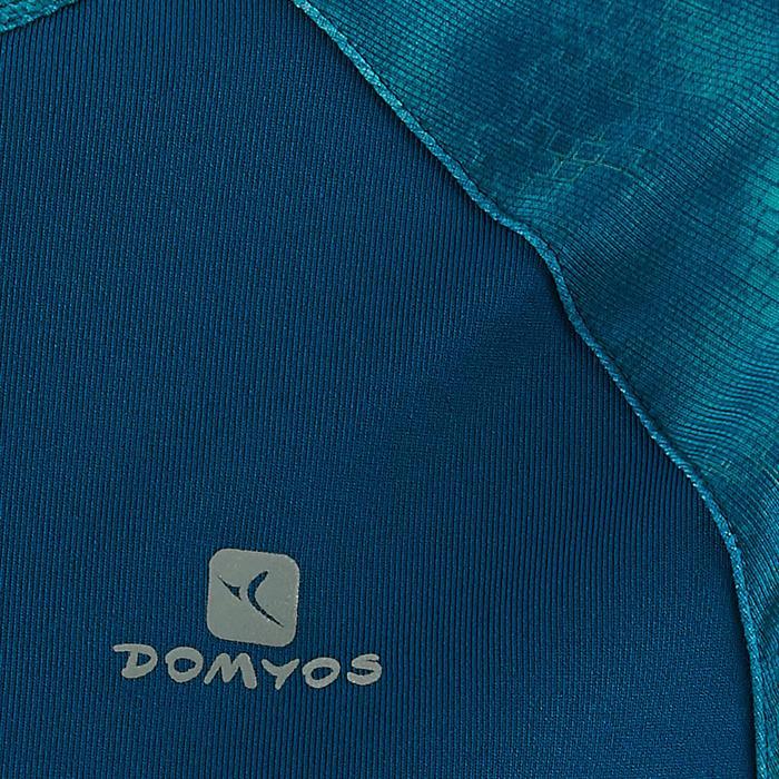 Gym T-shirt met korte mouwen S900 voor meisjes print blauw