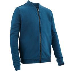 男童健身外套100 - 藍色