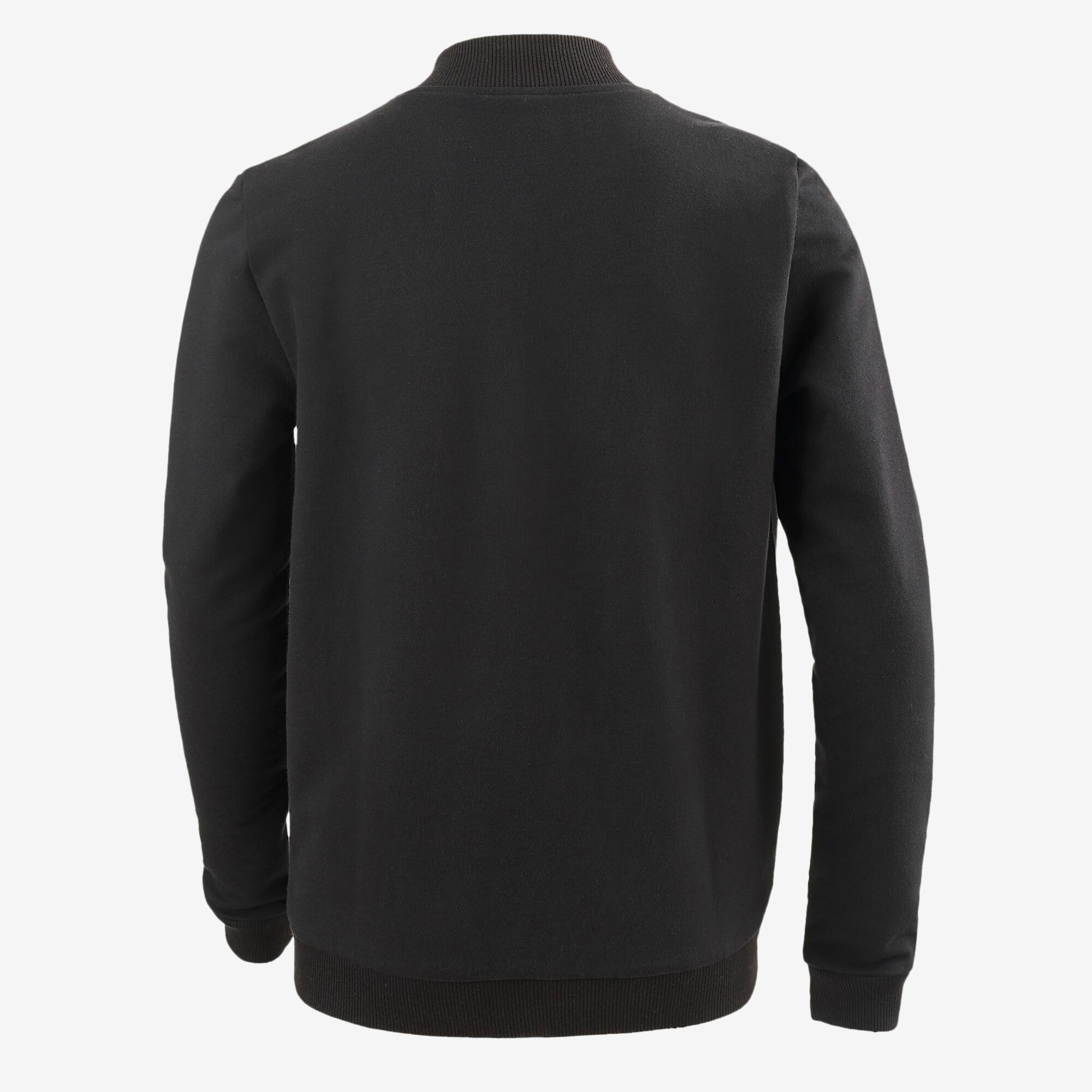 Veste 100 Gym garçon noir