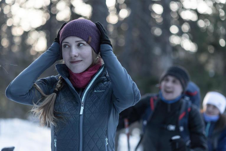 登山時中層注重保暖