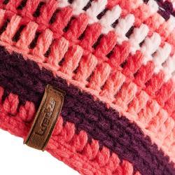 Skimütze Mixyarn Kinder violett/rosa