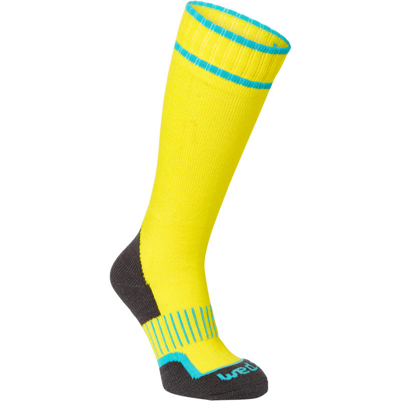 100 Children's Ski Socks - Yellow
