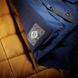 Winterjacke Winterwandern SH500 Ultra-Warm Herren blau