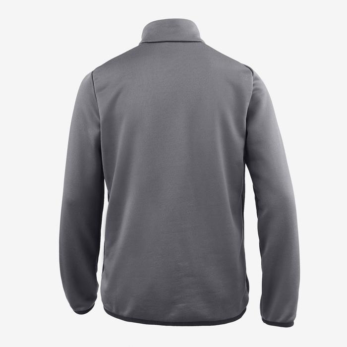 Trainingsjacke S500 Gym Kinder grau/schwarz