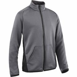 Trainingsjacke S500 Gym Kinder grau/schwarz