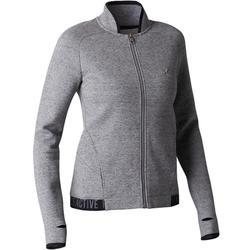 Veste 900 gymnastique d'étirements femme gris