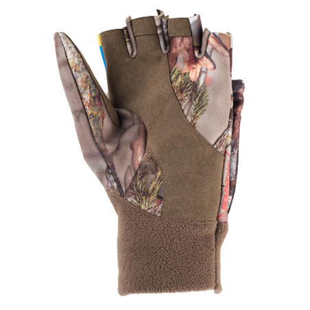 WOMEN'S WARM HUNTING MITTENS CAMOUFLAGE