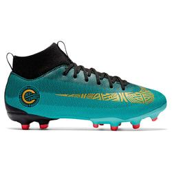 Voetbalschoenen kind Superfly Academy CR7 MG WK edition groen