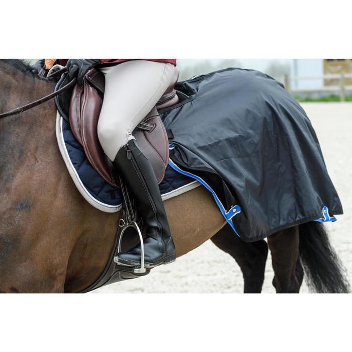 Bottes chaudes équitation adulte LB 500 WARM noir