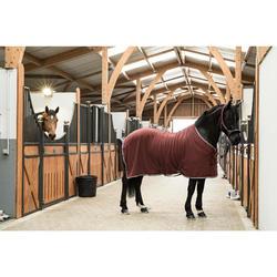 Zweetdeken ruitersport paard en pony Polar 500 bordeaux