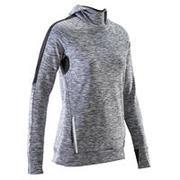 Siva ženska topla tekaška majica RUN WARM