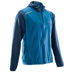 RUN WIND MEN'S RUNNING WINDPROOF JACKET - BLUE