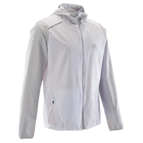 VESTE RUNNING HOMME RUN WIND BLANC