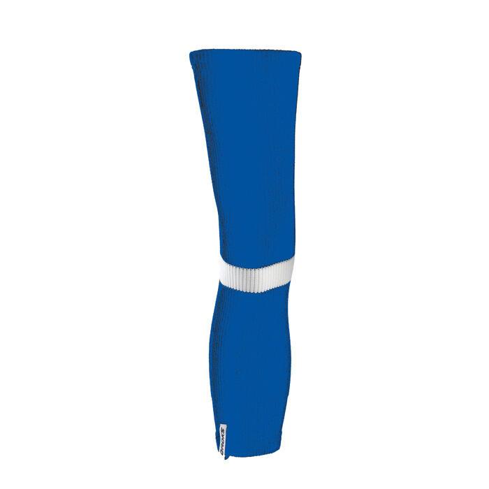 Stutzen Eishockey Erwachsene blau