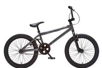 BMX Fahrrad für Kinder grau