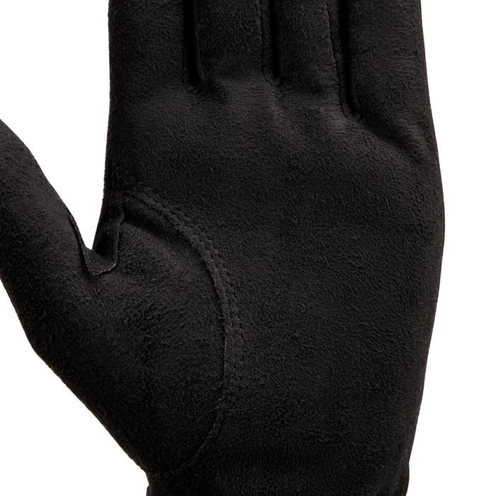 Gant de golf pluie femme droitière noir - 1506442