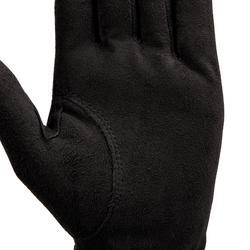 Golfhandschuh Regen Rechtshand (für die linke Hand) Damen schwarz