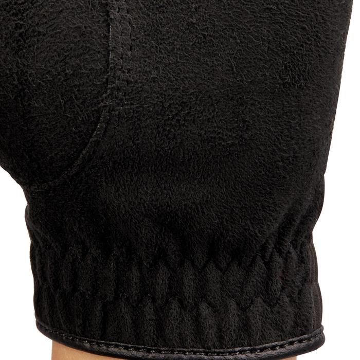 Gant de golf pluie femme droitière noir - 1506446