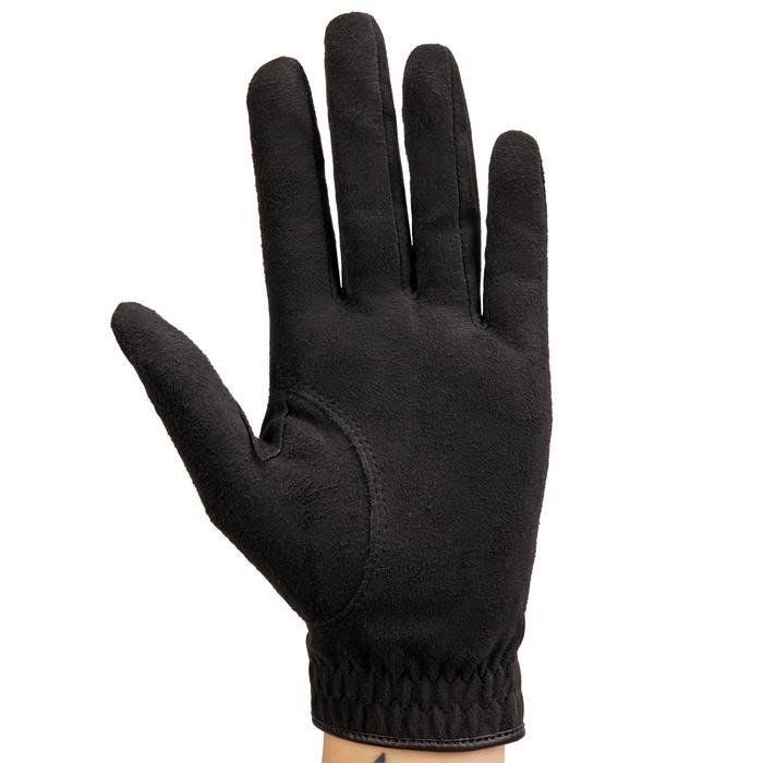 Gant de golf pluie femme droitière noir - 1506452