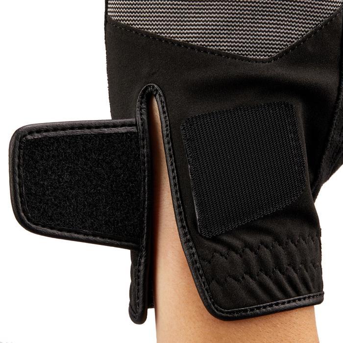 Gant de golf pluie femme droitière noir - 1506459
