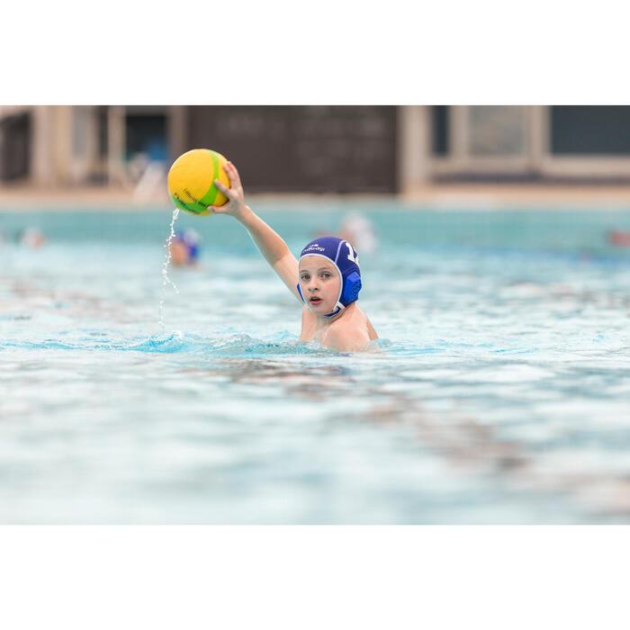 BALLON WATER POLO TAILLE 3 JAUNE VERT - 1506472