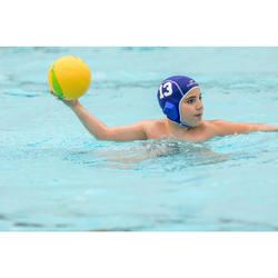 Lot de 15 bonnets water polo junior easyplay bleu