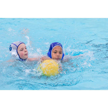 Lot de 15 bonnets water polo junior easyplay blanc