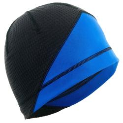 Muts langlaufen XC S 500 voor volwassenen zwart/blauw