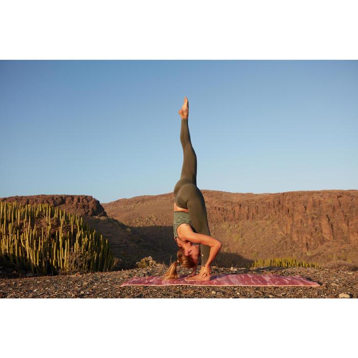 Legging YOGA sans couture femme longueur 7/8 - 1506545
