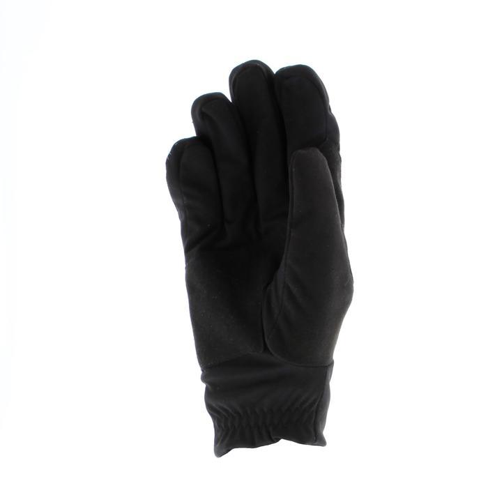 Gant de ski de fond chaud adulte noir XC S 100